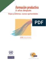 28666571 CEPAL La Trans for Mac Ion Productiva 20 Anos Despues