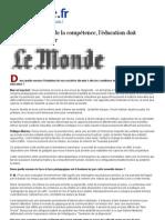 LE MONDE-Gauchet - Merieu