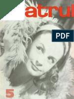 Revista Teatrul, nr. 5, anul XIV, mai 1969