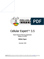 Cellular Expert 3.5 Whitepaper