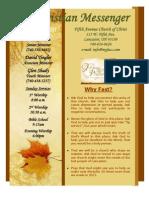 September 13 Newsletter