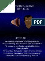 Effective & Active Listening