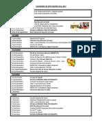 2011-2012 KIPP Academy Elementary Calendar - Espanol