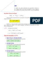 Química - Aula 17 - pH e pOH