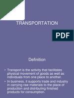 Transportation 1