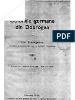 Coloniile Germane Din Dobrogea