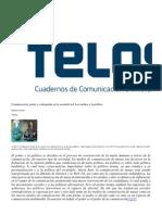 Manuel Castells Comunicacion Poder y Contrapoder Parte1