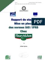 Rapport de Stage Fleury Michon