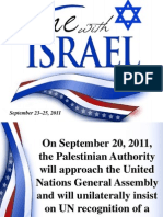 One With Israel Presentation Power Point VERSION