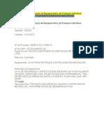 Certificado Aprovação EPIS