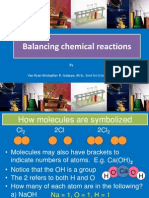 Balancing Chemical Reaction