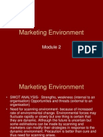 Ed Marketing Environment Module 2