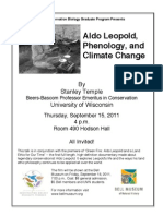 Temple Lecture Poster