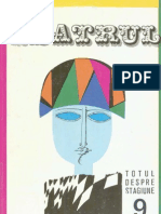 Revista Teatrul, nr. 9, anul XIV, septembrie 1969