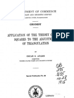 Application of the Theory of Least Squares to the Adjusment of Triangulation QB275U35no281915