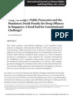 Yong Vui Kong v Public Prosecutor & Mandatory Death Penalty SSRN-id1837822-1