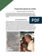 Preparando Agentes de Cambio - Posiciones Para Facultad en EARTH