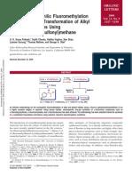 Efficient Nucleophilic ion