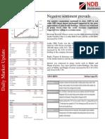 NDB Daily Market Update 13.09