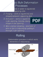 Bulk deformation process