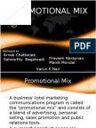 Promotional Mix Presentation Imc - Final