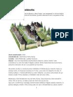 Manastiri Pictate Din Bucovina