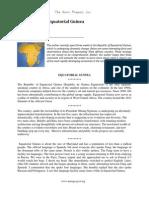 Some Notes on Equatorial Guinea