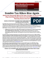 Zombie Tax Hikes Rise Again