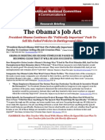 The Obama's Job Act