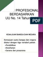 Profesionalitas Guru