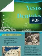Yesos Dentales Version Corta