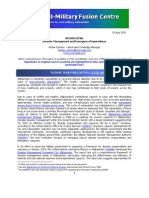 Disaster Management & Emergency Preparedness