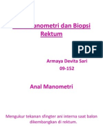 Anal Manometri Dan Biopsi Rektum