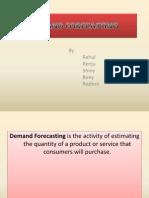 Demand Forecasting Edited