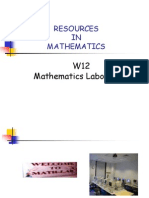 Resources in Maths.pptw12