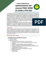 Implementacion Del Esquema Fssc 22000
