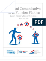 Guaraní Comunicativo en la Función Pública - SECRETARIA DE LA FUNCION PUBLICA - PRESIDENCIA DE LA REPUBLICA DEL PARAGUAY - PortalGuarani