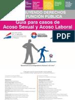 Guía para casos de Acoso Sexual y Acoso Laboral - SECRETARIA DE LA FUNCION PUBLICA - PRESIDENCIA DE LA REPUBLICA DEL PARAGUAY - PortalGuarani