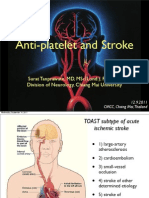 Anti Platlet and Stroke