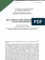 Trasatti Petrii_Real Surface Area Measurements in Electrochemistry_IUPAC