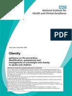 Obesidad NICE 1109