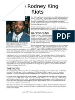The Rodney King Riots