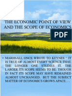 The Economic Point of View