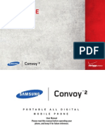 Verizon Wireless Samsung Convoy 2 User Manual