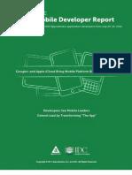 Appcelerator IDC Q3 2011 Mobile Developer Report