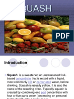 a ppt on SQUASH r