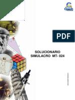 Solucionario MT-024 (2010)