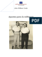 John William Cooke - Apuntes Para La Militancia
