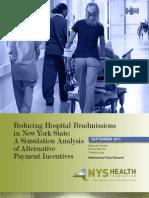Readmission report
