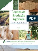 custo de produção agricola